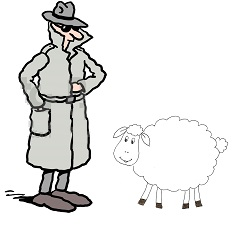 шпион и овца