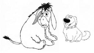 собака и ослик